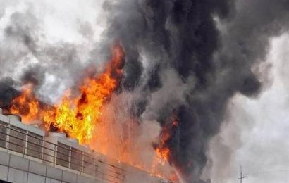 Fire breaks out in Andheri MIDC