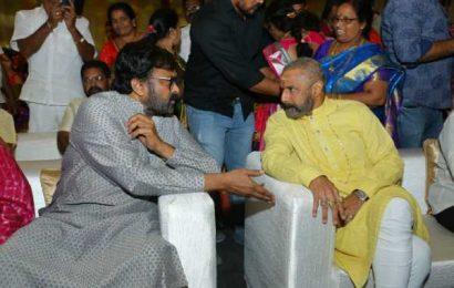 Pic Talk: Chiru and Balayya in ethnic wear