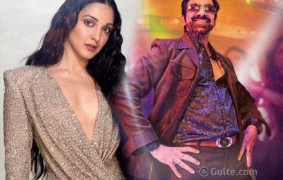 Kiara demands 2 crs to romance Ravi Teja!