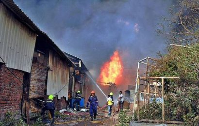 Chemical unit catches fire in Dombivli, no casualties