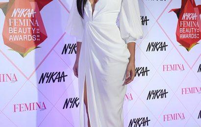 Smokin' hot! Rakul Preet smoulders in a white gown