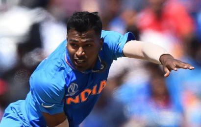Hardik Pandya starts bowling at NCA post UK check-up