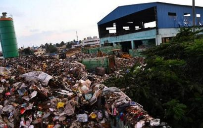 In Pallavaram, a transit station has become a dump yard