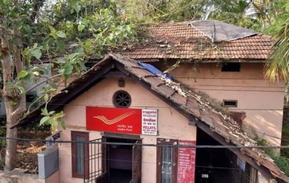 Vellayil post office neglected by authorities