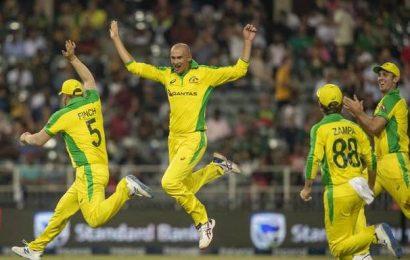 SA vs Aus   Agar hat-trick helps Australia thrash South Africa by 107 runs in 1st T20