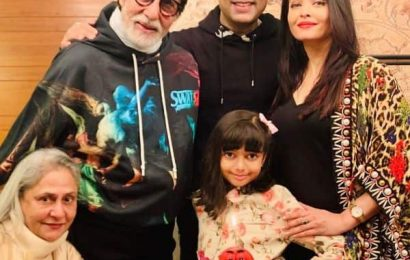 #HappyBirthdayAbhishekBachchan : Aishwarya Rai gives a glimpse into the mini celebration of Abhishek Bachchan's birthday, and it's picture perfect   Bollywood Life