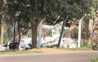 Punjab: IAF pilot killed in NCC trainer aircraft crash, cadet injured