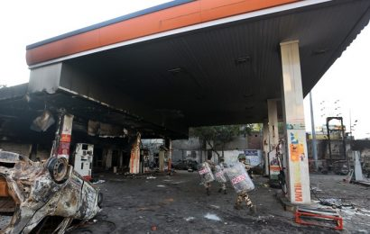 Delhi violence: Left charred – Petrol pump, coaching centre and a school