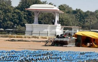 Ramlila Maidan gears up to host swearing-in ceremony of Arvind Kejriwal for third time