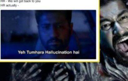 Bhoot trailer: Vicky Kaushal's 'Yeh Tumhara Hallucination Hai' dialogue inspires a wave of hilarious memes | Bollywood Life