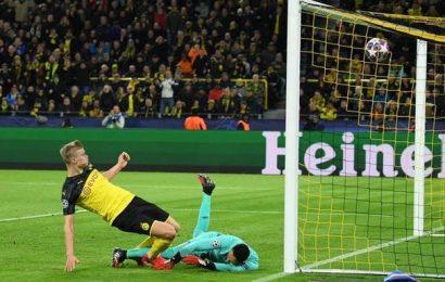 Champions League   Dortmund beat PSG 2-1 with sensational Haaland double