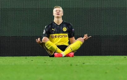 Sensational Erling Haaland gives Borussia Dortmund 2-1 win over PSG in Champions League