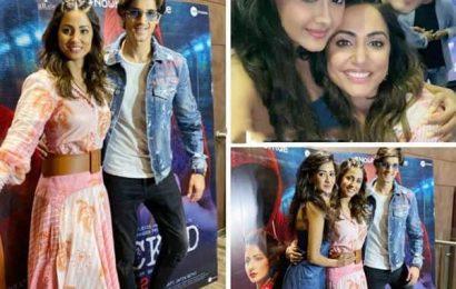 Kanchi Singh और Rohan Mehra समेत टीवी के इन स्टार्स ने देखी Hina Khan की डेब्यू फिल्म 'Hacked', देखें ये पिक्चर्स