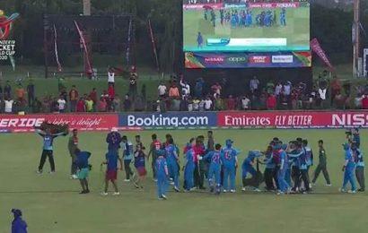 Five players including Ravi Bishnoi, Akash Singh sanctioned after under-19 World Cup final brawl