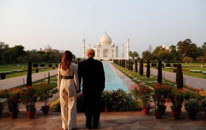 Trump, Melania visit Taj Mahal, marvel at monument of love