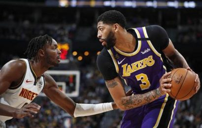 Red-hot Lakers beat Nuggets in overtime