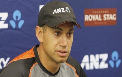 Batsman Ross Taylor on verge of a special ton