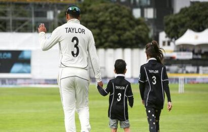 Taylor becomes first player to play 100 matches in all three formats