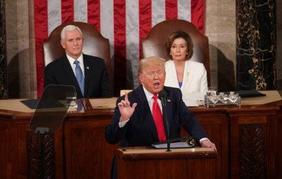 At SOTU, Trump claims credit for a 'Great American Comeback'