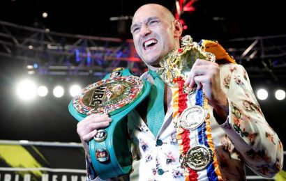 Tyson Fury says 'Let's go A.J.' though Deontay Wilder first has rematch option
