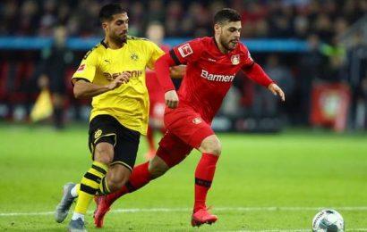 Leverkusen beats Dortmund 4-3 after late comeback