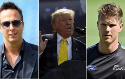 Michael Vaughan to James Neesham, cricketers react to Trump mispronouncing Sachin Tendulkar