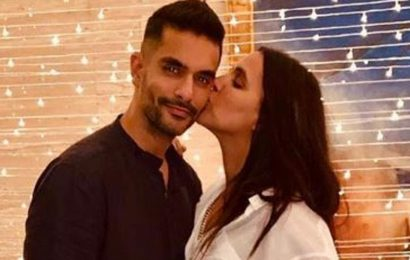 Happy Birthday Angad Bedi: Intimate family pictures of the actor with wife Neha Dhupia, daughter Mehr