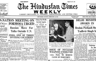 HT Archives: February 13, 1955, when Delhi ministry was sworn in