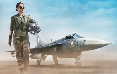 Tejas first look: Kangana Ranaut transforms into IAF pilot, Twitter salutes her look. See pic