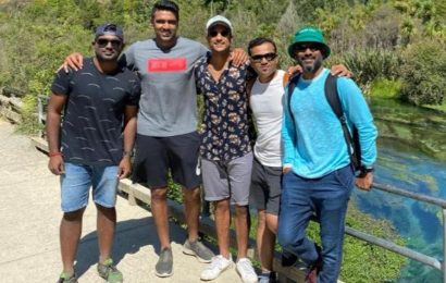 India vs New Zealand: 'A long walk by the Blue Springs' – Team India take a day off ahead of Test series – see pics