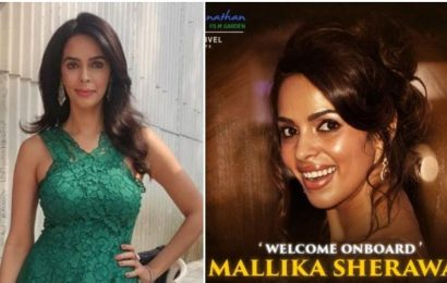 Mallika Sherawat returns to Tamil cinema after a decade with Pambattam