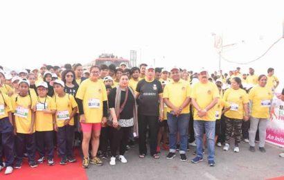 Mumbai school events: 5,000 participate in Marathon to raise cancer awareness