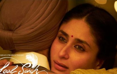 Kareena Kapoor's Laal Singh Chaddha look out, Aamir Khan says 'wish I can romance you in every film'