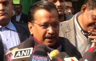 Delhi Assembly elections: Arvind Kejriwal casts vote, says hopeful of a hat-trick