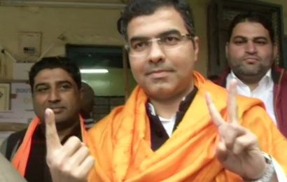 Delhi Assembly Elections 2020: Parvesh Verma casts his votes, says BJP is key to Delhi