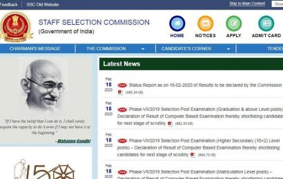 SSC Phase 7 result declared at ssc.nic.in, here's how to check