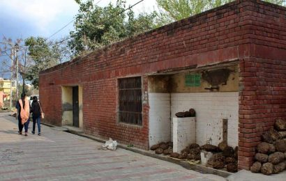 Anganwadi running in public toilet for 14 years in Mohali