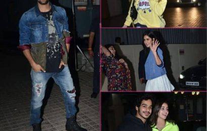 Bhoot Special Screening: Vikcy Kaushal की भूतिया फिल्म देखने पहुंची रुमर्ड गर्लफ्रेंड Katrina Kaif, ये सितारे भी आए नजर