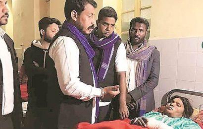 'Denied' visit to Mangta village, Chandrashekhar Azad meets injured Dalits in Kanpur hospital