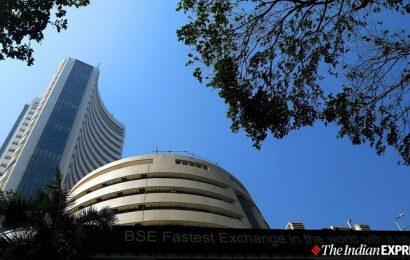 Sensex, Nifty opens on volatile note amid global selloff