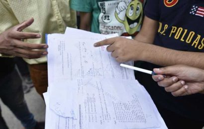 West BengalBoard:2 students caught while filming Maths question paper during Madhyamik exam