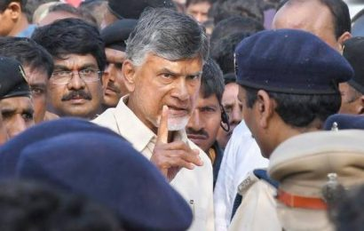 Chandrababu Naidu taken into preventive detention