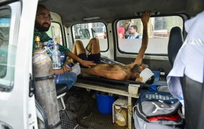 Ambulances delayed by barricades, tension while 18 wait to be shifted; two of them die