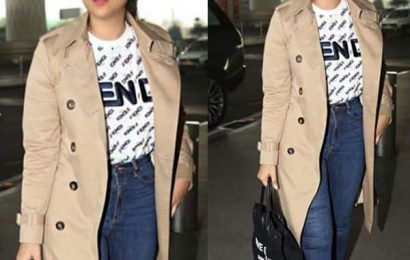 Guess The Price! Parineeti Chopra's black tote bag can burn a BIG hole in your pocket   Bollywood Life