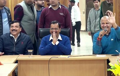 Delhi CM's swearing- in ceremony has to be attended by Delhi govt teachers: DoE circular