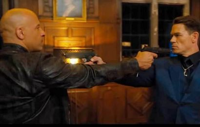 Fast and Furious 9 trailer: It's Vin Diesel vs John Cena this time