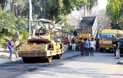Finally, road recarpeting begins in Chandigarh