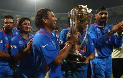 'Still get goosebumps': Sachin Tendulkar recalls 2011 World Cup victory