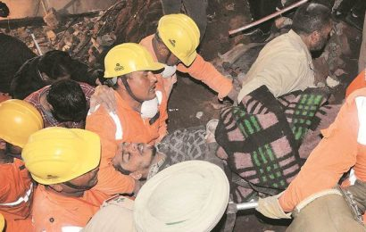 Kharar building collapse: Trapped for eight hours, phone calls saved his life