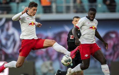 RB Leipzig back on top with easy win over struggling Werder Bremen